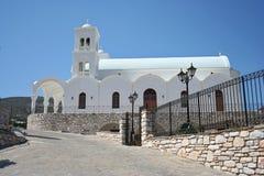 Μια συμπαθητική Ορθόδοξη Εκκλησία στην Ελλάδα Στοκ Εικόνα