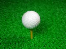 Μια σφαίρα γκολφ Στοκ Εικόνες