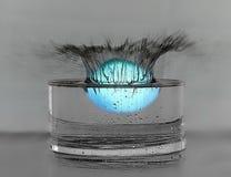 Μια σφαίρα στο νερό Στοκ εικόνες με δικαίωμα ελεύθερης χρήσης