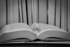 Μια σφαίρα meditaton σε ένα παλαιό βιβλίο στοκ εικόνες με δικαίωμα ελεύθερης χρήσης