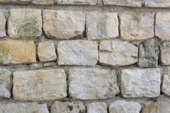 Μια σύσταση τοίχων με τους μεγάλους βράχους Στοκ φωτογραφία με δικαίωμα ελεύθερης χρήσης