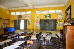 Μια τάξη στη Πνομ Πενχ Καμπότζη Στοκ εικόνα με δικαίωμα ελεύθερης χρήσης