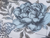 Μια ταπετσαρία υποβάθρου με τα λουλούδια Στοκ εικόνες με δικαίωμα ελεύθερης χρήσης