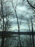 Μια τοπ άποψη βουνών της λίμνης Mohawk Στοκ φωτογραφίες με δικαίωμα ελεύθερης χρήσης