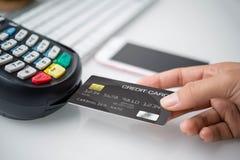 Μια τραπεζική κάρτα Στοκ φωτογραφία με δικαίωμα ελεύθερης χρήσης
