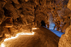 Μια υπόγεια διάβαση πεζών στο Quinta DA Regaleira Στοκ Εικόνες