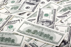 Εκατό το δολάριο Bill βρωμίζει - αντιστροφή Στοκ Εικόνα