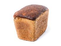 Μια φραντζόλα του μαύρου ψωμιού Στοκ Εικόνες