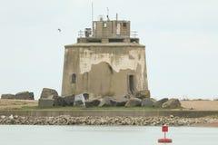 Μια φυσική άποψη του πύργου αριθ. 66 Martello, βόρειο-ανατολικά του σημείου Langney, Ήστμπουρν, UK Στοκ Εικόνα