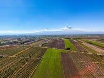 Μια φυσική άποψη Mout Ararat από την Αρμενία στοκ εικόνα με δικαίωμα ελεύθερης χρήσης