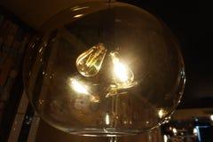 Μια φωτεινή πυράκτωση λαμπών φωτός Στοκ φωτογραφία με δικαίωμα ελεύθερης χρήσης