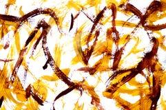 Μια φωτογραφία μιας αφηρημένης ζωγραφικής γκουας ελεύθερη απεικόνιση δικαιώματος