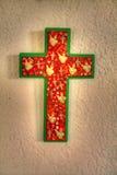 Ένας περίκομψος χειροποίητος σταυρός στοκ εικόνες με δικαίωμα ελεύθερης χρήσης
