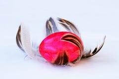 Μια φωλιά Πάσχας των φτερών Στοκ φωτογραφία με δικαίωμα ελεύθερης χρήσης