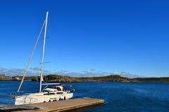 Μια χαμένη βάρκα Στοκ εικόνες με δικαίωμα ελεύθερης χρήσης