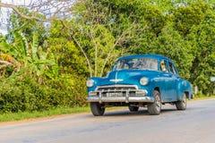 Μια χαρακτηριστική άποψη στην κοιλάδα Vinales στην Κούβα στοκ εικόνα
