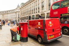 Μια χαρακτηριστική άποψη στο Λονδίνο στοκ φωτογραφίες