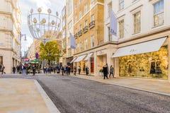 Μια χαρακτηριστική άποψη στο Λονδίνο στοκ εικόνες