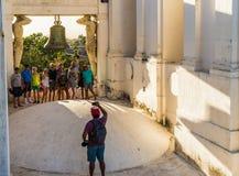 Μια χαρακτηριστική άποψη στο Leon Νικαράγουα στοκ εικόνες