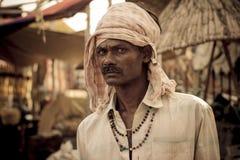 Μια χαρακτηριστική ινδική εργασία Στοκ Φωτογραφίες