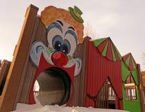 Μια χιονώδης χειμερινή παιδική χαρά στο Ουαϊόμινγκ στοκ εικόνες με δικαίωμα ελεύθερης χρήσης
