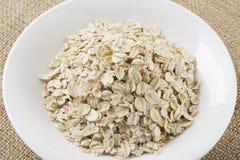 Μια χούφτα oatmeal Στοκ Εικόνες