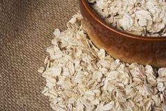 Μια χούφτα oatmeal Στοκ εικόνα με δικαίωμα ελεύθερης χρήσης