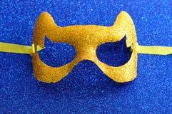 Μια χρυσή μάσκα Στοκ Φωτογραφία