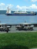 Μια όμορφη άποψη ενός σκάφους Στοκ Εικόνες