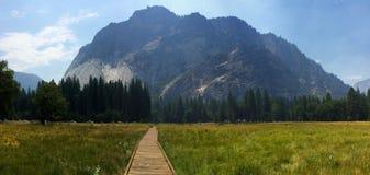 Μια όμορφη άποψη σε Yosemite Στοκ Εικόνες