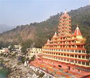Μια όμορφη άποψη του ινδού ναού στοκ φωτογραφίες