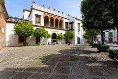 Μια όμορφη άποψη Plaza de Pilatos στη Σεβίλη Στοκ Φωτογραφίες