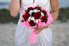 Μια όμορφη γαμήλια ανθοδέσμη Στοκ φωτογραφία με δικαίωμα ελεύθερης χρήσης