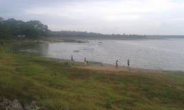 Μια όμορφη δεξαμενή στην πόλη Anuradhapura στοκ εικόνα με δικαίωμα ελεύθερης χρήσης