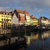 Μια όμορφη ημέρα σε Nhyvan Στοκ Φωτογραφία