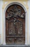 Μια antic πόρτα με ένα νήμα Στοκ Εικόνες