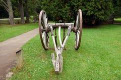 Μια horse-drawn συσκευή που χρησιμοποιείται στις ημέρες πρωτοπόρων Στοκ φωτογραφία με δικαίωμα ελεύθερης χρήσης
