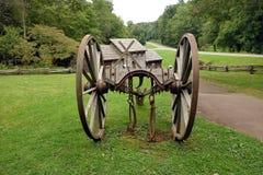 Μια horse-drawn συσκευή που χρησιμοποιείται στις ημέρες πρωτοπόρων Στοκ Εικόνα