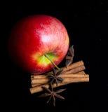 Μια juicy κόκκινη Apple Στοκ Φωτογραφία