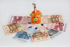 Μια piggy τράπεζα Στοκ εικόνα με δικαίωμα ελεύθερης χρήσης