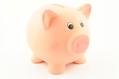 Μια piggy τράπεζα Στοκ φωτογραφία με δικαίωμα ελεύθερης χρήσης