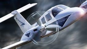 Μικρά αεροσκάφη Στοκ Εικόνες