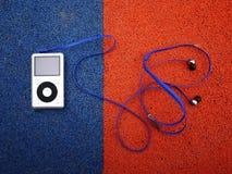 Μικρά ακουστικό-βουλώματα Λεπτομέρειες και κινηματογράφηση σε πρώτο πλάνο bright light στοκ εικόνες