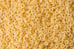 Δαχτυλίδια ζυμαρικών Anellini Στοκ Εικόνες