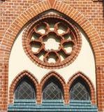 Μικρά λεκιασμένα παράθυρα Στοκ εικόνες με δικαίωμα ελεύθερης χρήσης