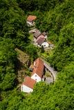 Μικρά ευρωπαϊκά σπίτια στοκ φωτογραφία