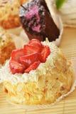 Μικρά κέικ Στοκ Εικόνα
