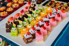 Μικρά κέικ Στοκ Φωτογραφία