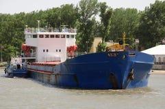 Μικρά και μεγάλα σκάφη Στοκ Φωτογραφίες
