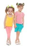 Μικρά κορίτσια μόδας Στοκ φωτογραφία με δικαίωμα ελεύθερης χρήσης